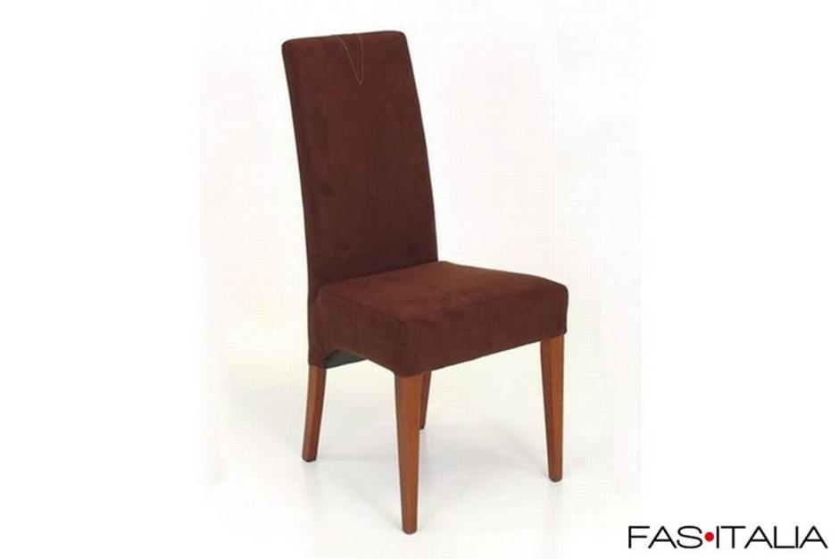 Sedie In Legno Imbottite : Sedia in legno di faggio imbottita in tessuto ignifugo