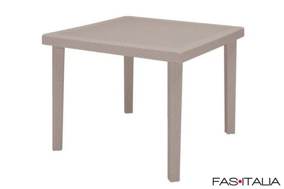 Sedie E Tavoli Da Giardino In Vimini.Tavolo In Polipropilene Rattan 90x90 Juta